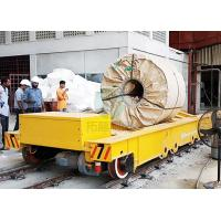 China Shipyard Transport Flat Bed 60 Tons Electric Transfer Cart for Handling Steel Plates on sale