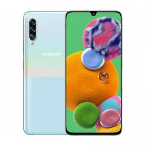 China New Samsung Galaxy A90 (5G) 128GB White SM-A908B Factory Unlocked 5G 4G SIMFree on sale