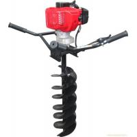 Metal Material 2 Stroke Post Hole Digger Auger , earth auger machine Manufactures