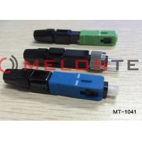 FTTH SC UPC-P Single Mode Fiber Optic Connector Adapter For CATV Network Manufactures