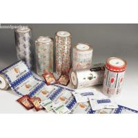 Pure Aluminum Automatic Packaging Film Roll , Laminated Packaging Film For Food Manufactures