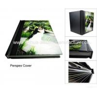 Acrylic Cover Flush Mount Wedding Photo Album Manufactures