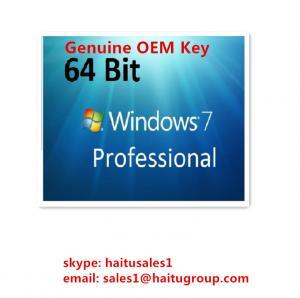 China OEM Windows 7 Product Activation Key For Windows 7 Professional OEM Key on sale