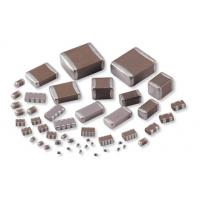 China SMD Multilayer Ceramic Capacitor / MLCC Capacitor With Size 0402 0603 0805 1206 on sale