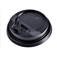 China Heavy Duty Eco friendly Paper Coffee Cups Lids For Hot / Cold Dirnk No Smell on sale