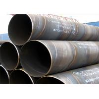 China Industrial Black Spiral Welding Pipe ASTM A53 ASTM A252 , 3.2mm-40mm Thickness on sale