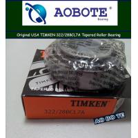Timken Automotive Tapered Roller Bearing For Plastic Machinery 322 / 28BCL7A Manufactures