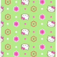 China cotton flannel print fabric on sale