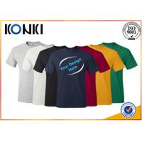 Comfortable Mens t shirt  Short Sleeve t Shirt With Round Neck many colors Manufactures