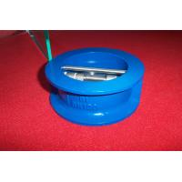 New structur GG25 / GGG40 / GGG50 Cast Iron Wafer Check Valve with competitive price Manufactures