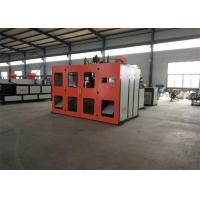 Screw Heating  Plastic Extrusion Rotary Blow Molding Machine Double Station For Pp Material Manufactures