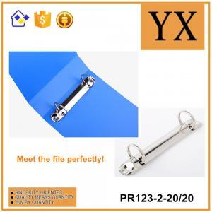 China Bright Nickel Metal 2 Holes Folder Ring Binder Best Selling File Binder Clips on sale