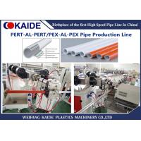 PEX-AL-PEX Plastic Pipe Making Machine / Composite Pipe Production Line Manufactures