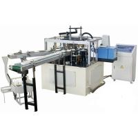High Efficiency Automatic Paper Lid Making Machine With Hot Melt Glue Box Manufactures