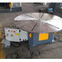 China Horizontal Rotary Welding Positioner 20 T With Foot Pedal Wireless / Remote Cable Control on sale