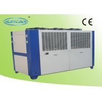 Free Standing Air Cooled Water Chiller For High Frequency Machine Cooling Manufactures