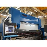 GIVI Optical Scales CNC Press Brake Machine 4 Axis With DELEM DA66T 37KW Manufactures