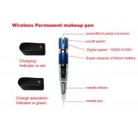 China Tattoo Eyebrow Machine Equipment with Wireless Permanent Makeup Pen Kit on sale