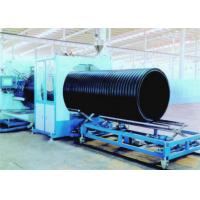 Fully Automatic HDPE Plastic Extrusion Line Sprial Corrugated Pipe Making Machine Manufactures