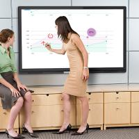 55 Inch LCD Writing Board For Office / Meeting Room Manufactures