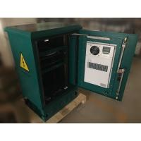 """China 18U Standard 19"""" Rail Outdoor Telecom Cabinet / Enclosure Pole and Floor Mounted With Air Conditioner on sale"""