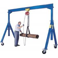 China Strong Trolley Hook Double Girder Crane on sale