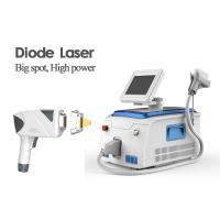 Big Spot Size Permanent Diode Laser Hair Removal Machine 1 - 166J/Cm2 Energy Density Manufactures