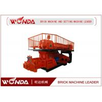China Double Stage Vacuum Extruder Clay Bricks Making Machine Fully Automatic 160KW  on sale