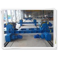 Buy cheap Auto PU Wheel Pipe Welding Rotator VFD Control With Motorized Bogie from wholesalers
