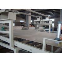 Marble Plastic Sheet Extrusion Line , PVC Artificial Wall Panel Profile Making Machine Manufactures
