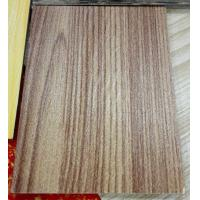 China Natural Wooden Texture Color Coated Aluminum Coil , Textured Aluminum Trim Coil  on sale