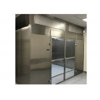 Low Noise Laminar Flow Clean Room Booth With Energy Efficient High Air Volume Fan Manufactures