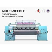 Heavy Duty Industrial Sewing Machine , 3.5KW CNC Quilting Machine For Sleeping Bag Manufactures