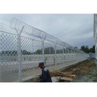 Hot Dipped Galvanized Anti Climb Fence 1/2X3 Inch Opening For Outdoor Prison Manufactures