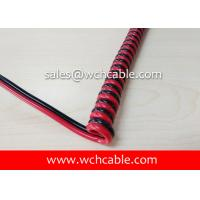 UL Curly Cable, AWM Style UL20848 20AWG 2C FT2 105°C 30V, TPE Manufactures
