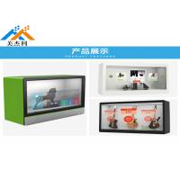 China Full HD Network Wifi Advertising Player , 49 55 65 Transparent Lcd Showcase on sale