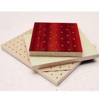 China Fireproof Feature Soundproof Material Studio Room Wooden Perforated Acoustic Panel on sale