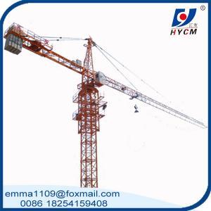 Small Tower Crane TC3508 2.5T Max.Load 35m Jib Boom Mini Crane Manufactures