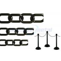Black PE Roadway Plastic Chain Link Manufactures