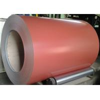 Brown Prepainted Galvalume Steel Coil 55% AZ30-100 Painting 4+14/5-7 Manufactures