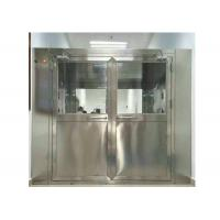 High Efficiency Stainless Steel Air Shower Equipment For Pharmaceutical Industry Manufactures