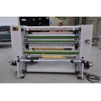 Automatic High Speed BOPP Tape Slitting Machine , Paper Roll Slitting Rewinding Machine Manufactures