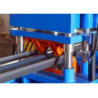 Two Wave Highway Guardrail Roll Forming Machine Galvanized W Beam Type Manufactures