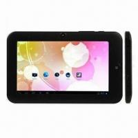 7.0-inch Capacitive Touchscreen Tablet PC, Android 4.0 OS and Boxchip A13 Cortex-A8, 1.2GHz CPU Manufactures