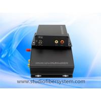 2CH broadcast audio fiber converters with RCA interface for 2CH digitally encoded audio to 10~120KM Manufactures