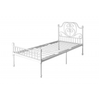 China Kids Adults Metal Bed Frame With Headboard And Footboard Mattress Foundation on sale
