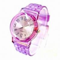 China Transparent Multifunction Fashionable Silicone Watch, ODM Orders are Welcome on sale