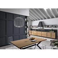 Solid Wood Frame Complete Kitchen Cabinet Set 18mm MFC Borad ISO9001 Manufactures