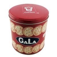 China round chocolate  butter cookies tin can maker on sale