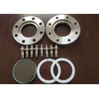 China Grade 5 Titanium Forging Blind Pipe Flanges , Reducing Blind Flange Petrochemical on sale